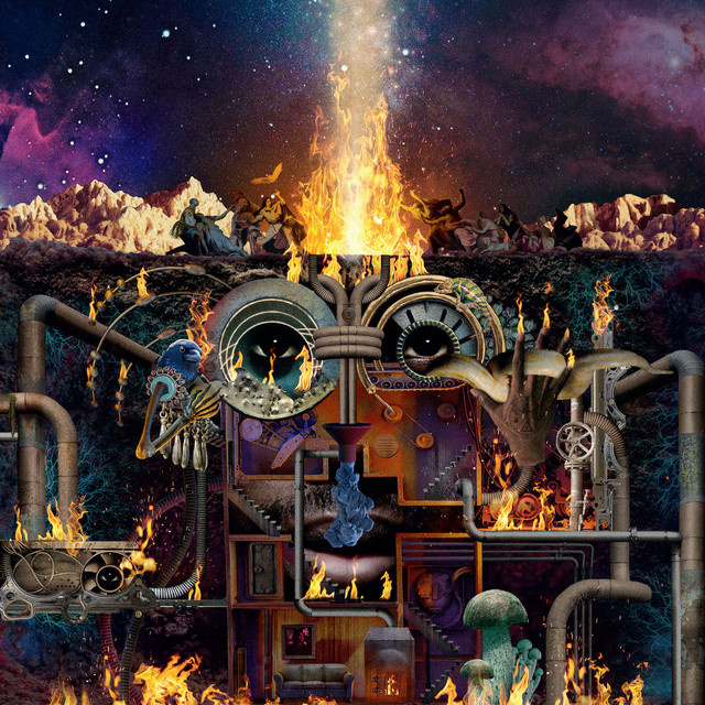 Album cover for Flamagra by Flying Lotus