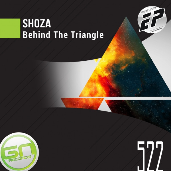 Album cover for Behind The Triangle EP by Shoza