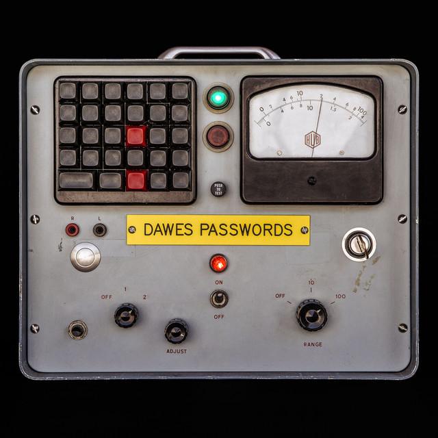 Skivomslag för Dawes: Passwords