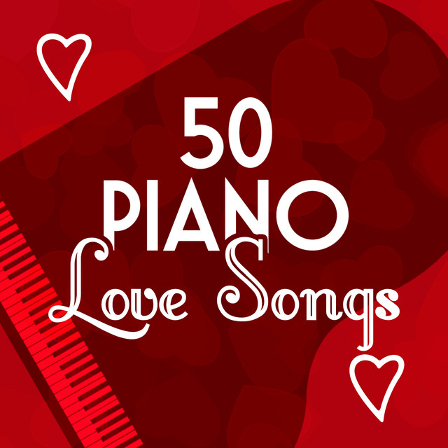 50 Piano Love Songs Albumcover