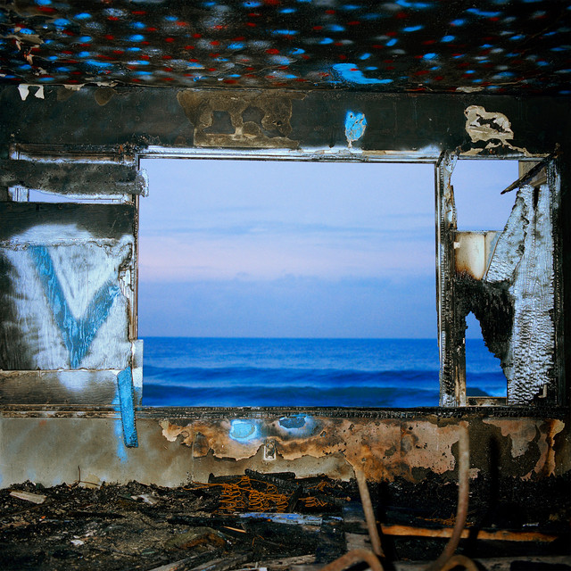 Album cover for Fading Frontier by Deerhunter