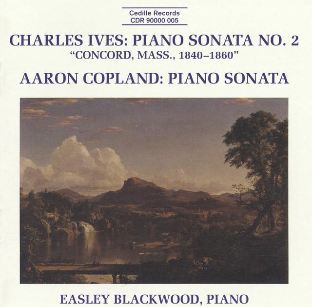 Ives: Piano Sonata No. 2 / Copland: Piano Sonata Albumcover