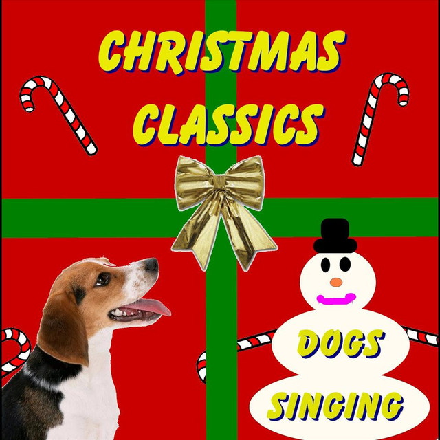 dogs barking jingle bells