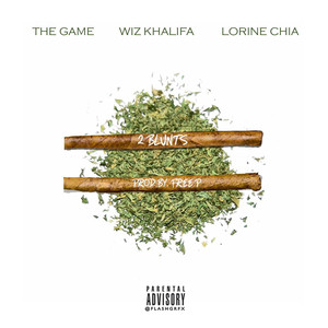 The Game, Wiz Khalifa, Lorine Chia Two Blunts cover