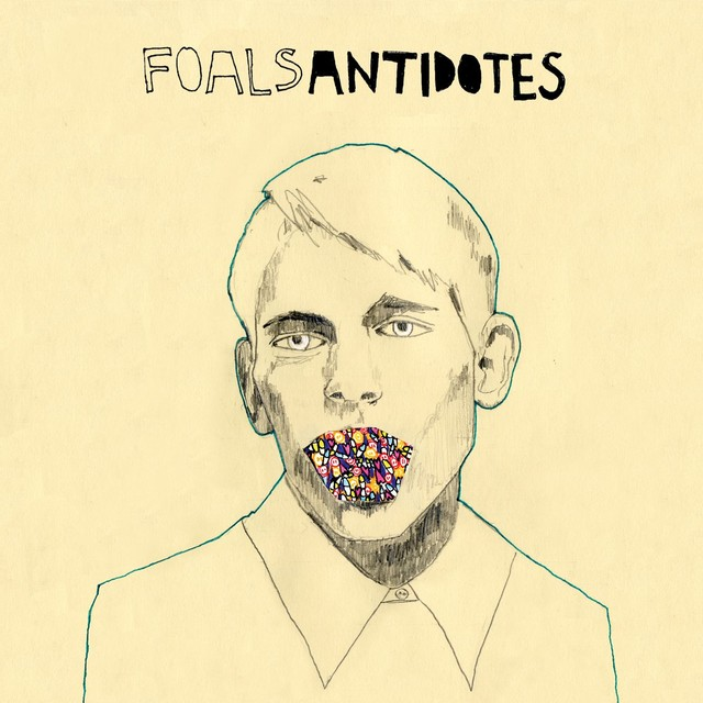 Album cover for Antidotes by Foals