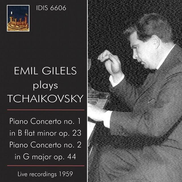 Emil Gilels Plays Tchaikovsky (1959) Albumcover