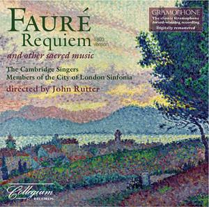 Faure: Requiem - Messe basse Albumcover