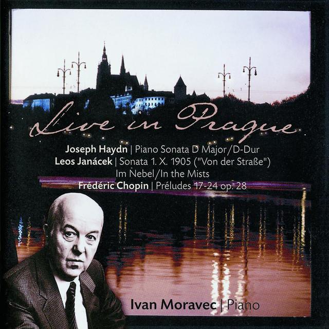 Moravec: Haydn / Janacek / Chopin Albumcover