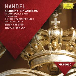 "Handel: 4 Coronation Anthems Including ""Zadok The Priest""; Dixit Dominus album"
