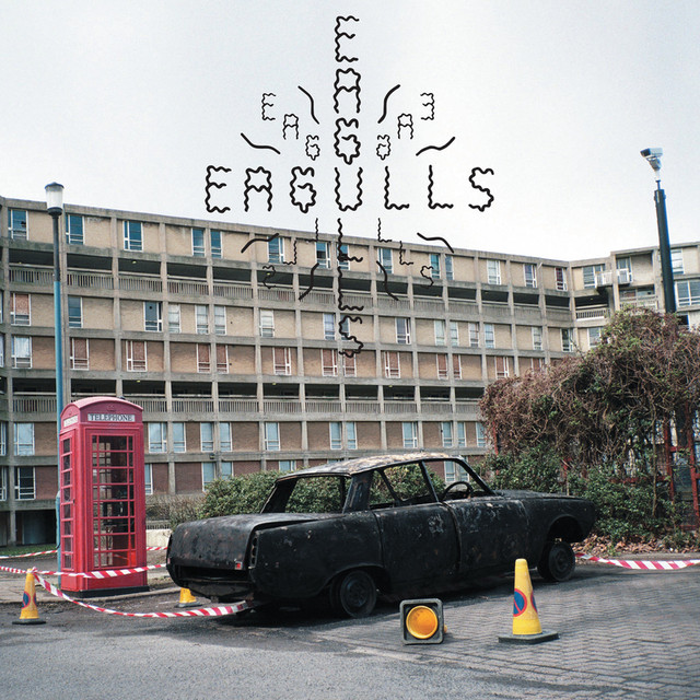 Album cover for Eagulls by Eagulls
