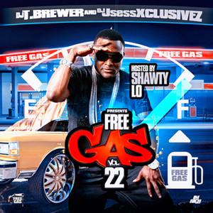DJ T. Brewer & DJ Jsess Xclusivez present Free Gas Vol 22 (Hosted by Shawty Lo) album