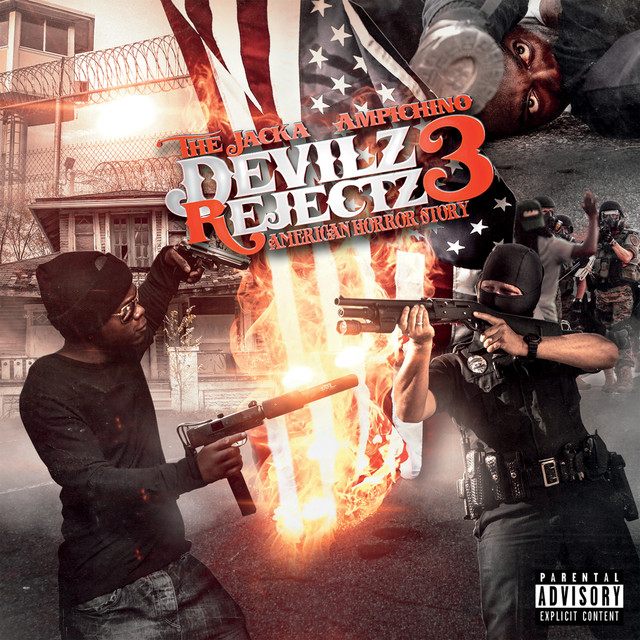 Album cover for Devilz Rejectz 3: American Horror Story by The Jacka, Ampichino