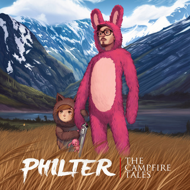Album cover for The Campfire Tales by Philter