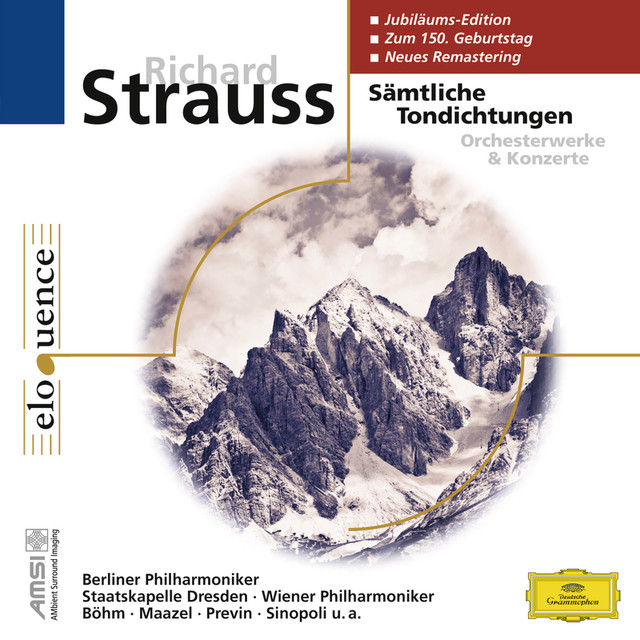 Richard Strauss: Sämtliche Tondichtungen Albumcover