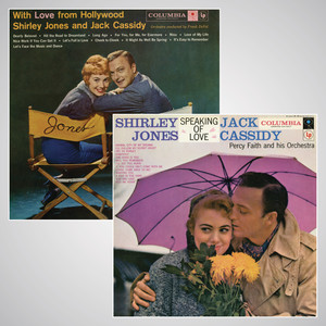 Shirley Jones, Percy Faith A Kiss in the Dark cover