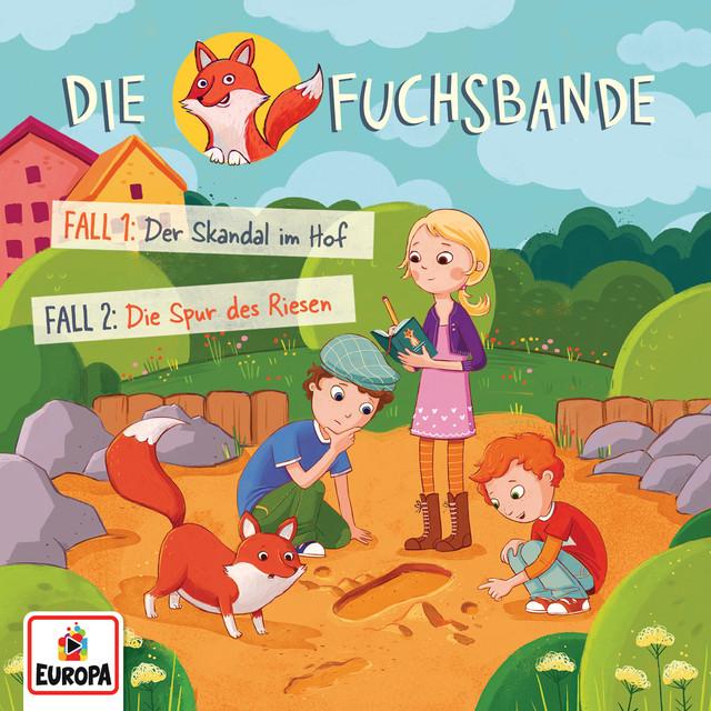 001 - Fall 1: Der Skandal im Hof  -  Fall 2: Die Spur des Riesen Cover