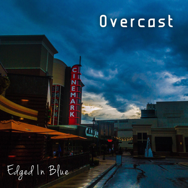 Album cover for Overcast by Edged in Blue