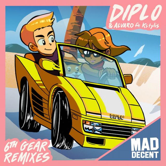 Diplo, Kstylis, Alvaro 6th Gear (remixes) album cover