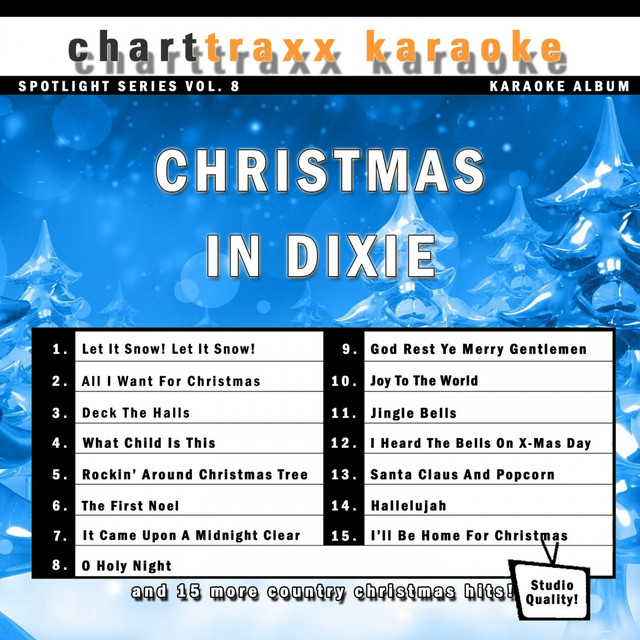more by charttraxx karaoke - Country Christmas Songs