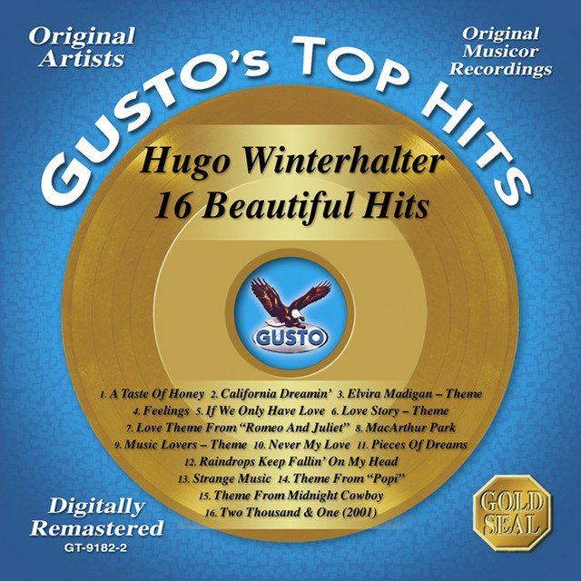 Hugo Winterhalter 16 Beautiful Hits album cover