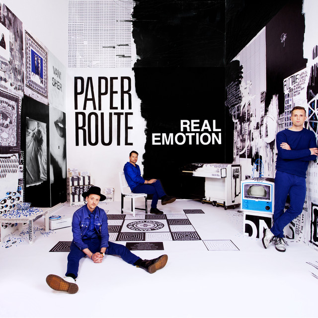 Album cover for Real Emotion by Paper Route