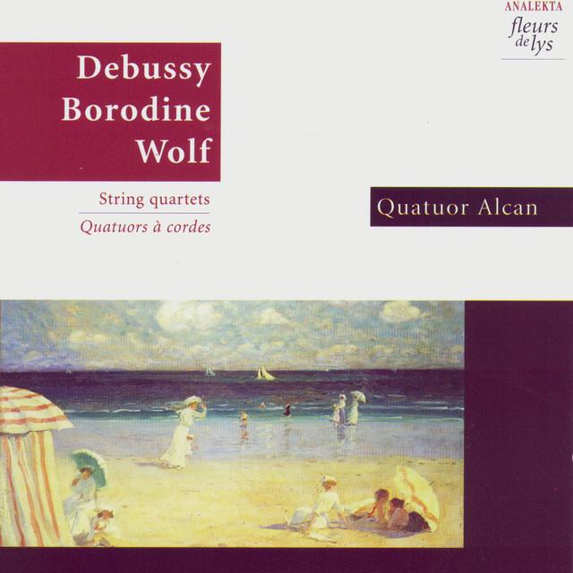 Debussy - Borodine - Wolf Albumcover