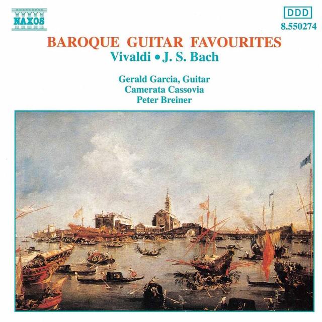 Baroque Guitar Favourites Albumcover
