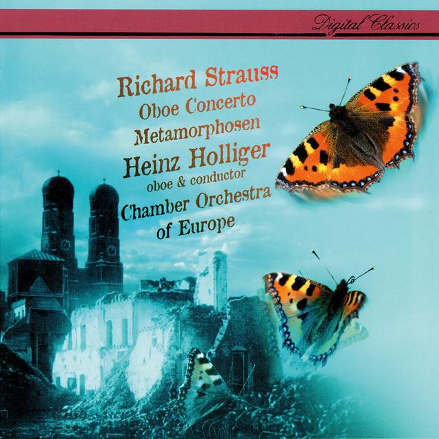 Richard Strauss: Oboe Concerto; Metamorphosen Albumcover