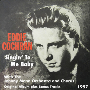 Eddie Cochran, the Johnny Mann Orchestra and Chorus Undying Love cover