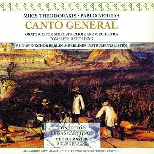 Canto General Albumcover