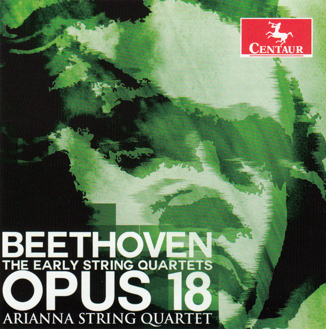 Beethoven: The Early String Quartets, Op. 18 Albumcover