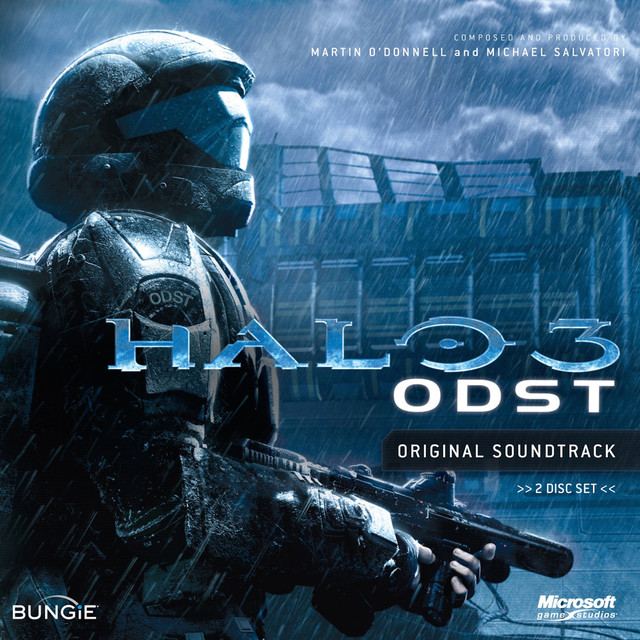 Martin O'Donnell, Michael Salvatori Halo 3: ODST album cover