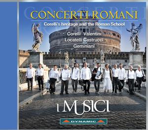 Concerti Romani: Corelli's Heritage and the Roman School album