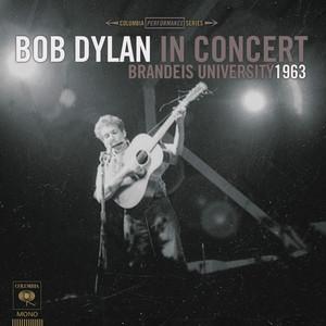 Bob Dylan In Concert: Brandeis University 1963 Albumcover