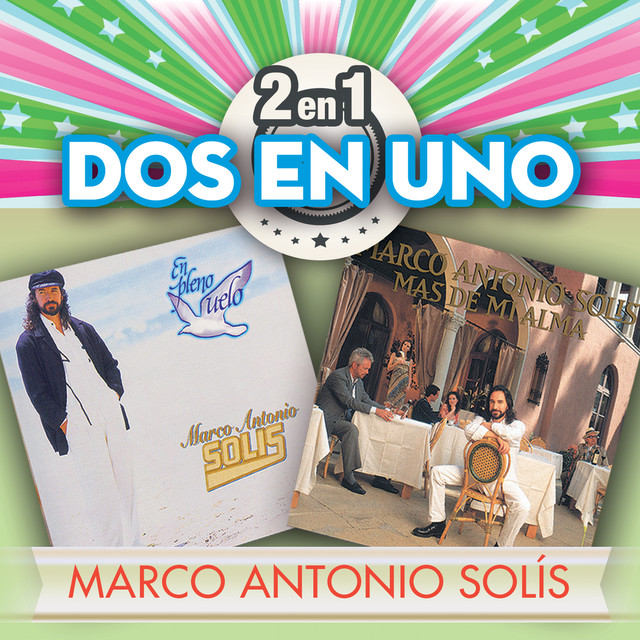 Album cover for 2En1 by Marco Antonio Solís