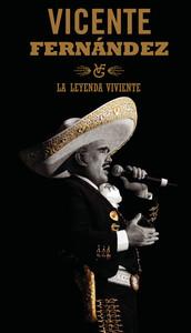 Vicente Fernandez La Leyenda Viviente (Digi-Book) Albumcover
