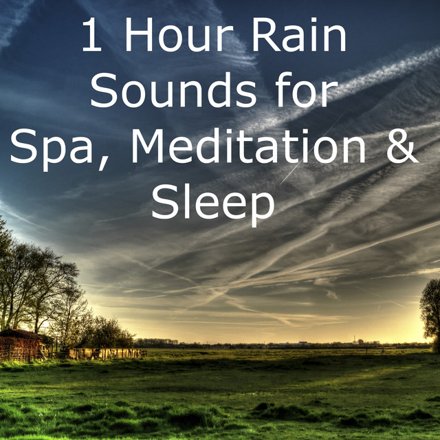 1 Hour of Spa Rain Nature Sounds  Loopable Yoga Relaxation