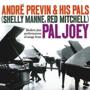 André Previn, Shelly Manne, Red Mitchell I Could Write a Book cover