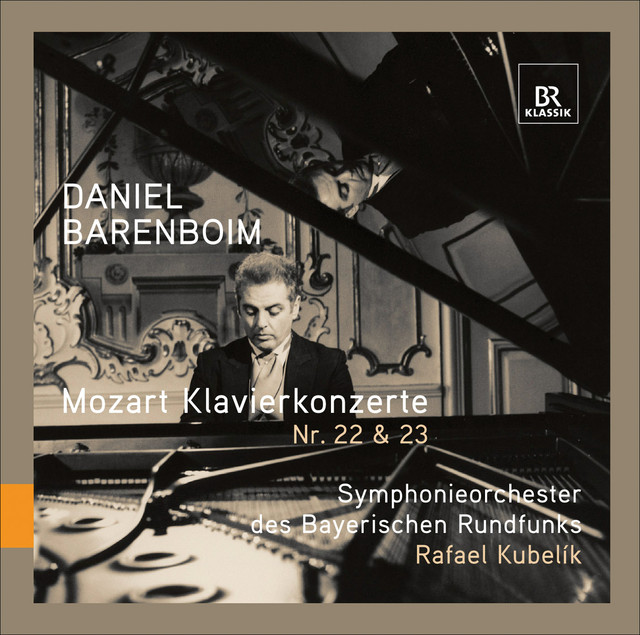 Mozart: Piano Concertos Nos. 22 & 23 Albumcover