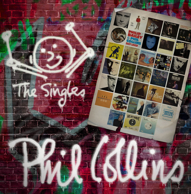 Phil Collins The Singles (Expanded) album cover