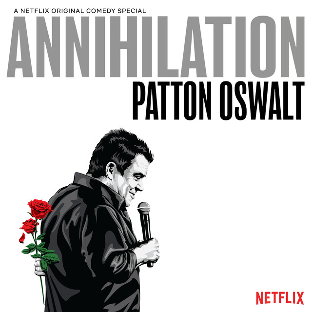 Album cover for Annihilation by Patton Oswalt
