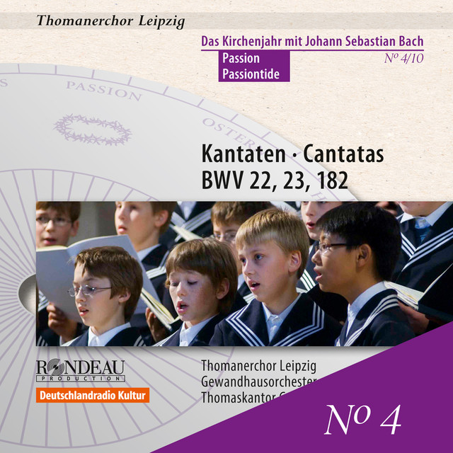 The Liturgical Year with J.S. Bach, Vol. 4: Cantatas for Passiontide