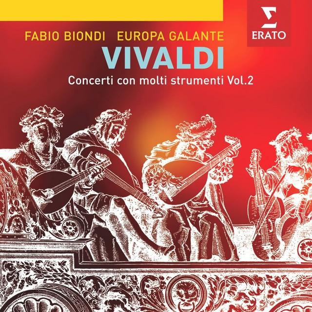 Vivaldi: Concerti per molti strumenti Vol. 2 Albumcover