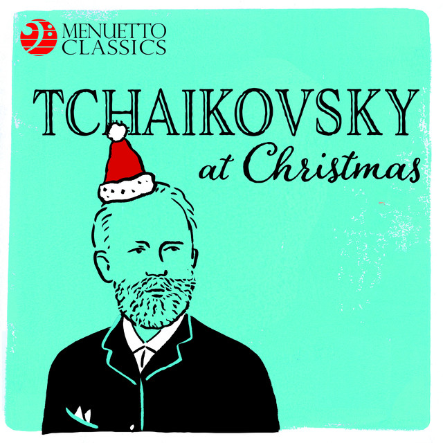 Album cover for Tchaikovsky at Christmas by Pyotr Ilyich Tchaikovsky, Various Artists