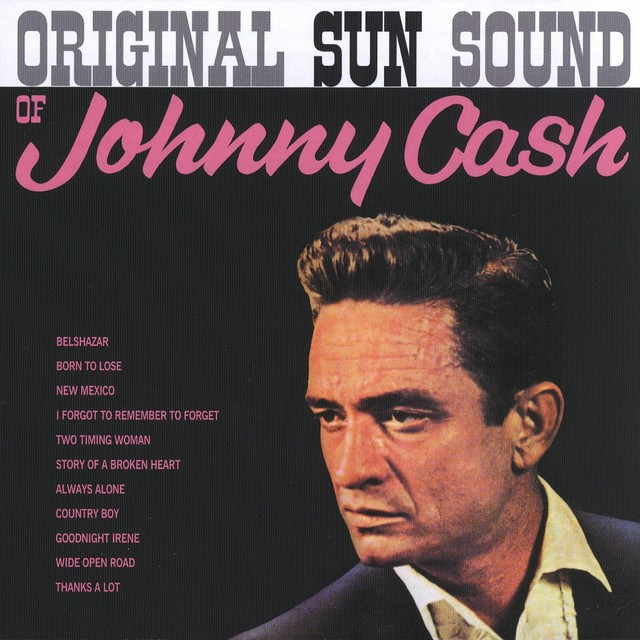 Original Sun Sound of Johnny Cash Albumcover