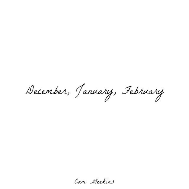 December, January, February Albumcover
