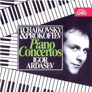 Tchaikovsky, Prokofjev: Piano Concertos Albumcover