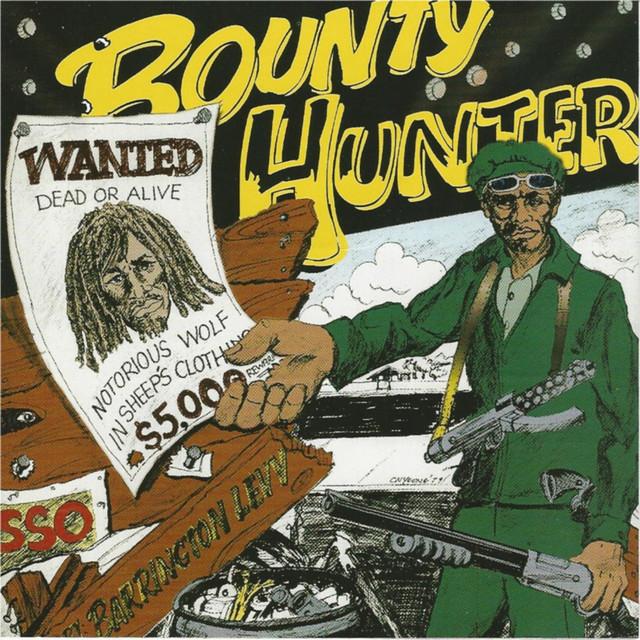 Barrington Levy Bounty Hunter Wanted 1979 album cover