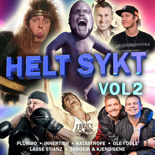 Album cover for Helt Sykt VOL2 by Staysman & Lazz