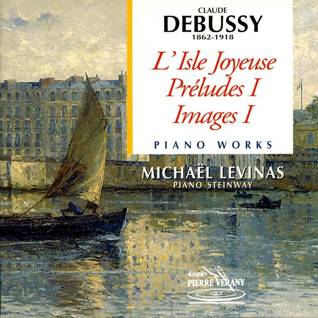 Debussy : Oeuvres pour piano Albumcover